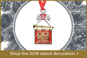 Limited edition 2018 hanging decoration