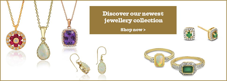 New gemstone jewellery collections