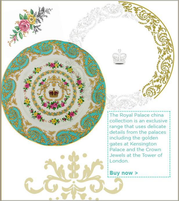 Royal Palace fine bone china collection
