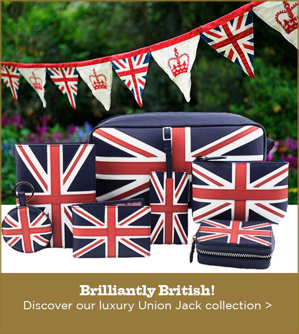 Luxury Union Jack gift collection