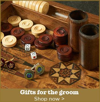 Bridegroom gifts