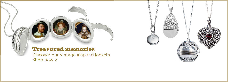 Vintage inspired jewellery - locket collection