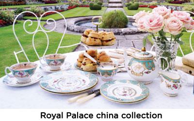 Royal Palace china collection