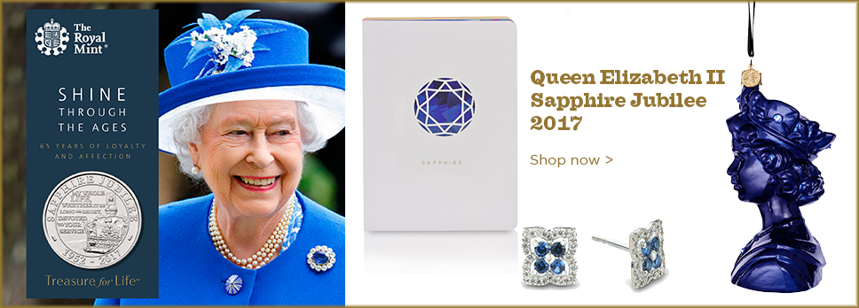 Queen Elizabeth Sapphire Jubilee Commemorative Collection