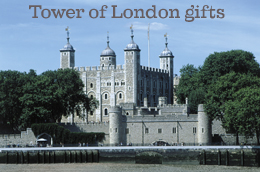Tower of London gift shop