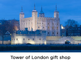 Official Tower of London gift shop
