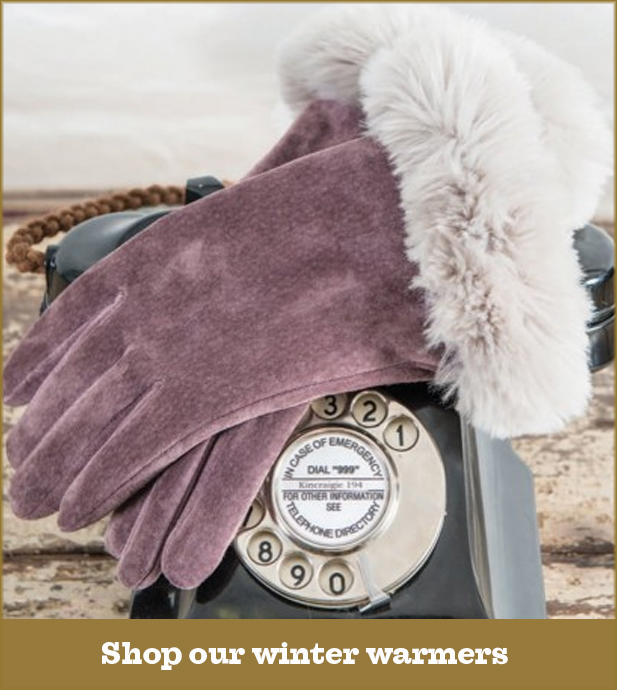 Winter Warmers: Shop our hat, gloves and scarves