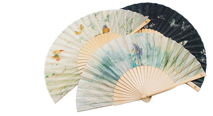 Decorative hand fans