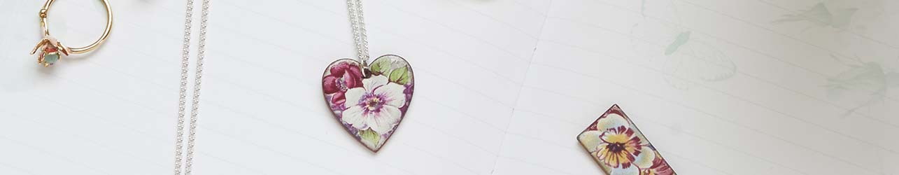 'Love Stories ' - Romantic jewellery gifts - heart pendants, lockets and keys for your loved one