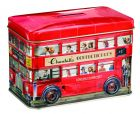 London red bus toffee tin