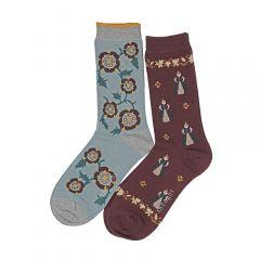 Tudor Queen Elizabeth I sock pack opened