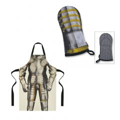 Henry VIII's armour apron - 100% cotton