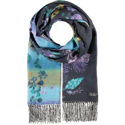 Thistle Cashmink dark purple scarf