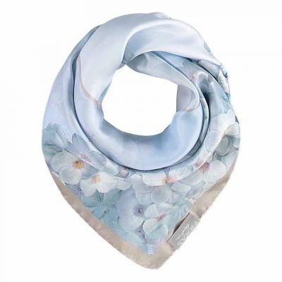 Hydrangea Silk Scarf
