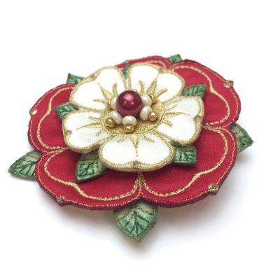 Tudor Rose Brooch