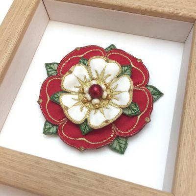 Framed Tudor Rose