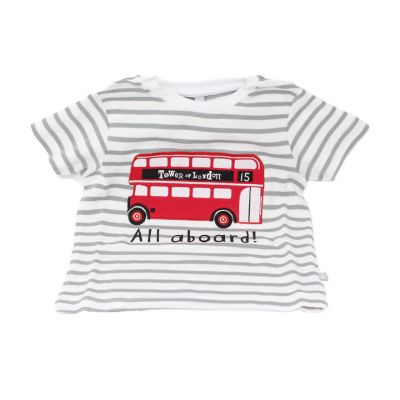 Tower of London icons children's bus T-shirt