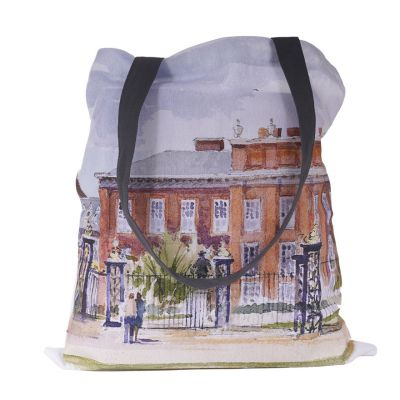 Kensington Palace watercolour tote bag