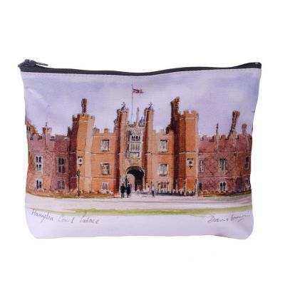 Hampton Court Palace watercolour cosmetic bag