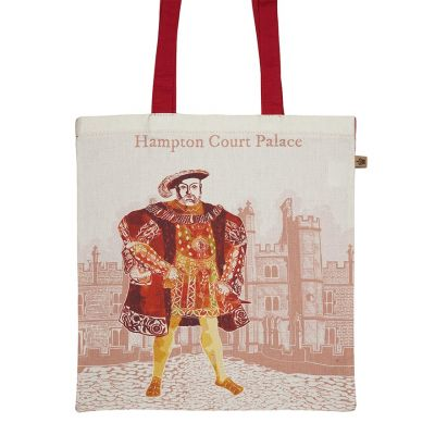 Illustrated Henry at Hampton Court Palace tote bag