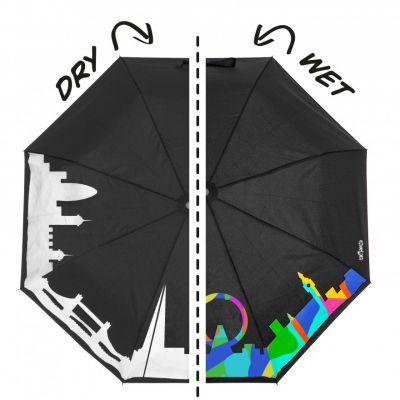 London skyline colour changing umbrella