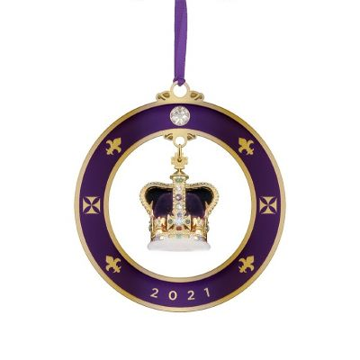 2021 St. Edward's Crown limited edition luxury dated decoration