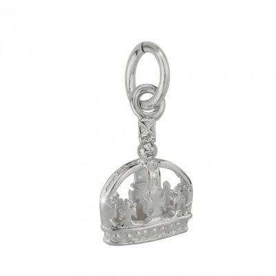 Ortak Silver crown charm