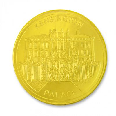Tower mint Kensington Palace large chocolate coin