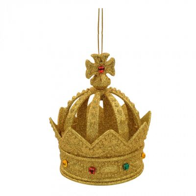 Gold crown decoration