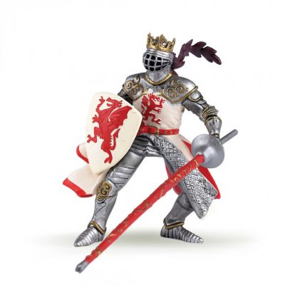 Papo UK Red dragon king model toy