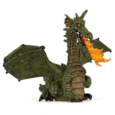 Papo UK Green dragon model toy