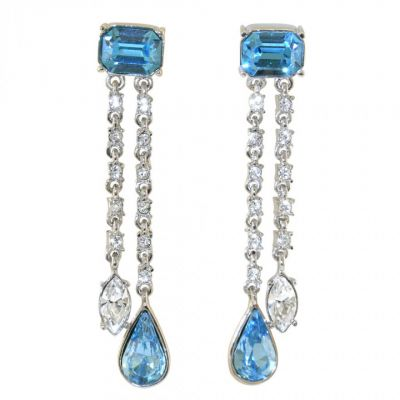 Crowns and regalia Durbar aquamarine earrings