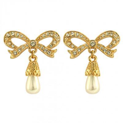 Crowns Regalia Princess bow earrings