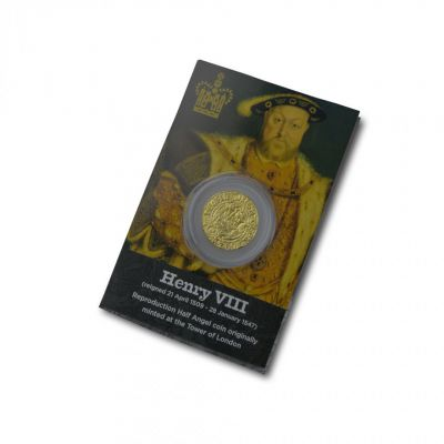 Replica coin - Henry VIII Tudor half angel