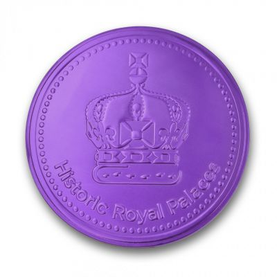 Tower mint Large crown chocolate coin