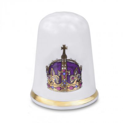 Henry VIII crown thimble