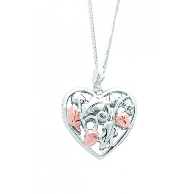 Clogau Royal Oak heart locket