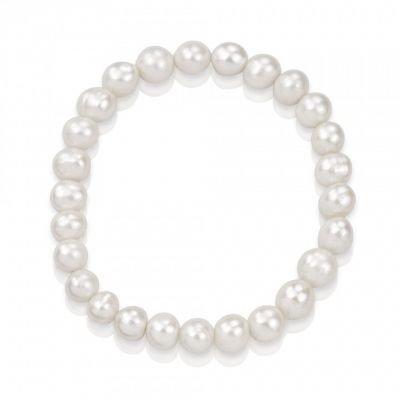 Real white pearl bracelet