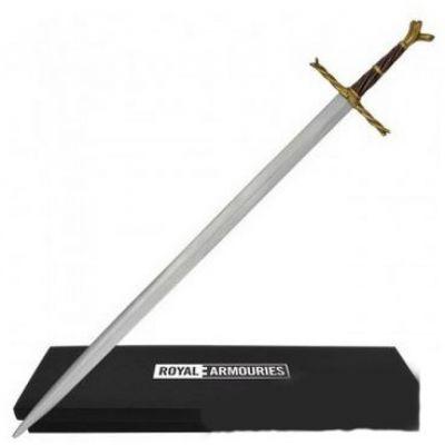 Writhen hilt sword letter opener