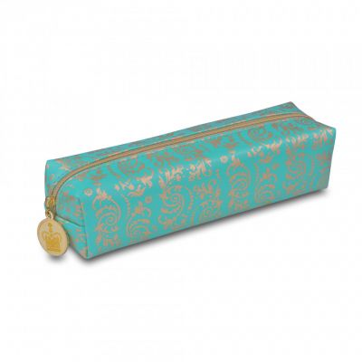 Palace china turquoise pencil case