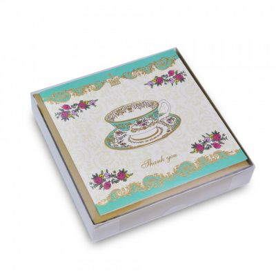Palace china boxed thank you cards