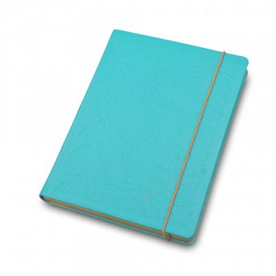 Palace china A5 notebook in turquoise
