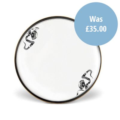'Shoe of Eden' fine bone china dinner plate