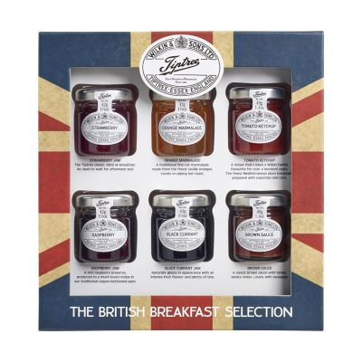 Wilkin & Sons Tiptree British icons jam and sauce collection