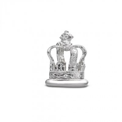 Silver St Edward's Crown charm