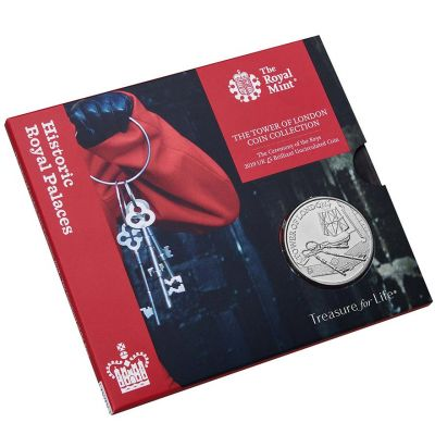 The Royal Mint Tower of London 'Ceremony of the Keys' UK £5 Brilliant Uncirculated coin