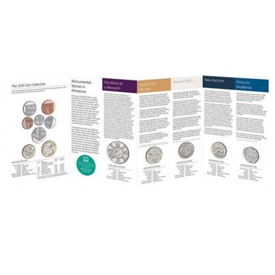 The Royal Mint United Kingdom brilliant uncirculated annual coin set 2020