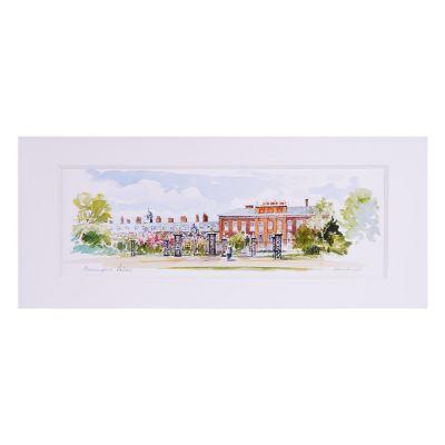 Kensington Palace Landscape Print