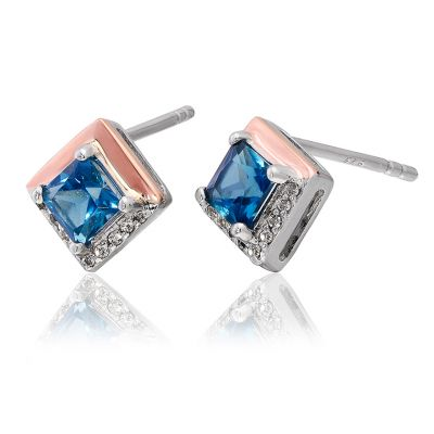 9 carat Kensington Love Story Stud Earrings