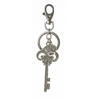 Historic Royal Palaces crystal key keyring